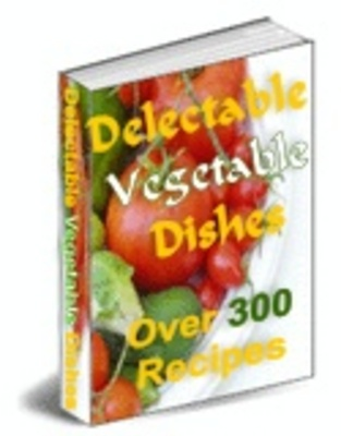 Product picture  DELECTABLE VEGETABLE DISHES